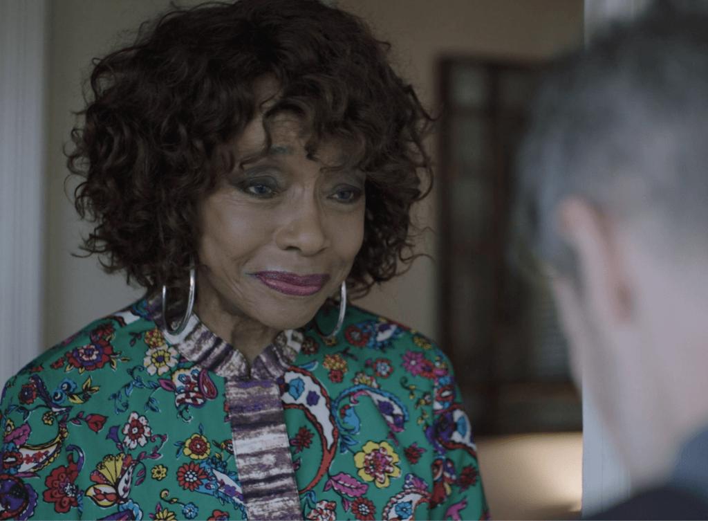 Actress Beverly Todd playing Deidre Gilbert